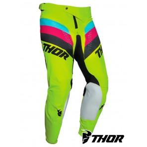 Pantaloni Cross Thor PULSE RACER - Acid Nero