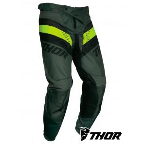 Pantaloni Cross Thor PULSE RACER - Army Green Acid