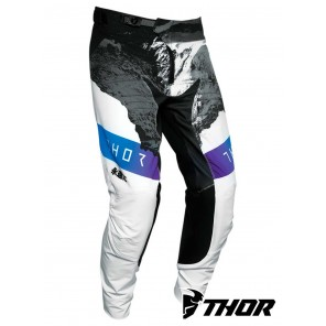 Pantaloni Cross Thor PRIME PRO MESMER - Bianco