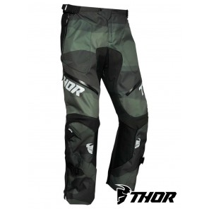 Pantaloni Enduro Thor TERRAIN (Over The Boot) - Camo