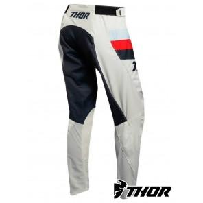 Pantaloni Thor Women's PULSE RACER - Bianco Vintage Midnight