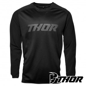 Maglia Enduro Thor TERRAIN - Nero