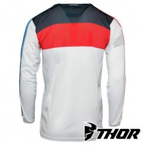 Maglia Thor HALLMAN TAPD AIR - Rosso Bianco Blu
