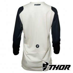Maglia Thor Women's PULSE RACER - Bianco Vintage Midnight