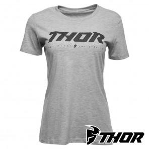 Maglietta Donna Thor WOMEN'S LOUD 2 Tee - Grigio Melange