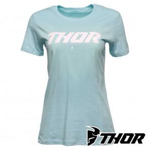 Maglietta Donna Thor WOMEN'S LOUD 2 Tee - Azzurro
