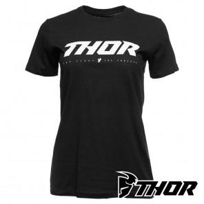 Maglietta Donna Thor WOMEN'S LOUD 2 Tee - Nero