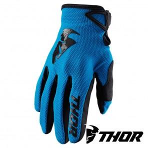 Guanti Cross Thor SECTOR - Blu