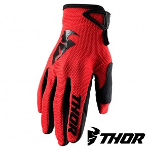 Guanti Cross Thor SECTOR - Rosso