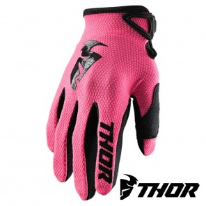 Guanti Cross Donna Thor Women's SECTOR - Rosa