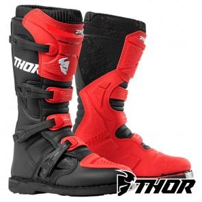 Stivali Cross Thor BLITZ XP - Rosso Nero