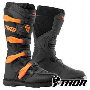 Stivali Cross Thor BLITZ XP - Carbone Arancione
