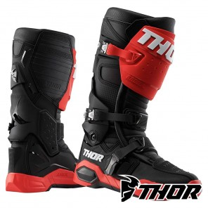 Stivali Cross Thor RADIAL - Rosso Nero