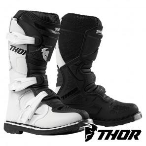 Stivali Cross Bambino Thor Youth BLITZ XP - Bianco Nero