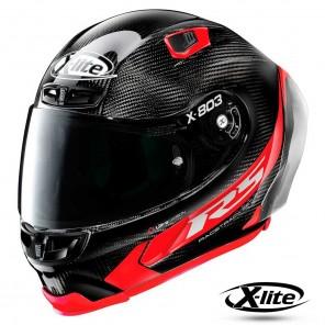 Casco Integrale X-lite X-803 RS ULTRA CARBON Hot Lap 13 - Carbon Rosso