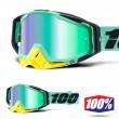 100% Maschera THE RACECRAFT Kloog - Lente Verde Specchio