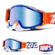 100% Maschera THE RACECRAFT Roxburry - Lente Blu Specchio