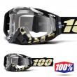 Maschera Cross 100% THE RACECRAFT Ergoflash - Lente Trasparente