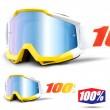 Maschera Cross 100% THE ACCURI Astra - Lente Blu Specchio