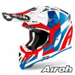 Casco Motocross Airoh AVIATOR ACE Trick - Blu