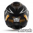 Casco Moto Integrale Airoh SPARK Vibe - Nero Opaco