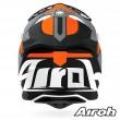Casco Motocross Airoh STRYCKER Axe - Arancione Opaco