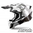 Casco Motocross Airoh TWIN 2.0 Frame - Grigio