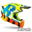 Casco Motocross Airoh TWIN 2.0 Frame - Giallo