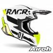 Casco Motocross Airoh TWIN 2.0 RACR - Lucido