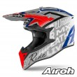 Casco Motocross Airoh WRAAP Street - Grigio Metallo