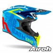 Casco Motocross Airoh WRAAP Street - Azzurro