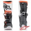 Stivali Cross Bambino Alpinestars TECH 7S - Nero Grigio Bianco Arancione Fluo