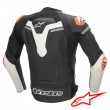 Giacca Moto Pelle Alpinestars MISSILE IGNITION TECH-AIR™ Airbag - Nero Bianco Rosso Fluo