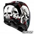 Casco Integrale Icon AIRFLITE Skull 18 - Glory