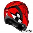 Casco Integrale Icon AIRFORM Conflux - Rosso