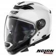 Casco Modulare Nolan N70-2 GT Classic 5 N-COM - Metal White