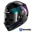 Casco Moto Integrale Shark RIDILL Nelum - Nero Glitter