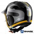 Casco Moto Jet Shark X-DRAK 2 Thrust-R - Nero Antracite Arancione