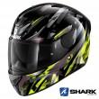 Casco Moto Integrale Shark D-SKWAL 2 Kanhji - Nero Giallo Antracite