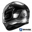Casco Moto Integrale Shark D-SKWAL 2 Zarco 2019 Mat - Antracite Argento