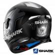 Casco Integrale Shark SKWAL 2 Replica Oliveira Mat - Nero Antracite Argento