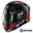Casco Integrale Shark SKWAL 2 Nuk'Hem - Nero Antracite Rosso