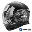 Casco Moto Integrale Shark SKWAL 2 Noxxys Mat - Nero Antracite Argento