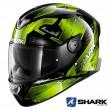 Casco Moto Integrale Shark SKWAL 2 Venger - Nero Giallo