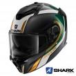 Casco Integrale Shark SPARTAN GT CARBON Tracker - Carbonio Verde Oro