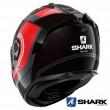 Casco Integrale Shark SPARTAN GT Tracker - Nero Rosso Argento