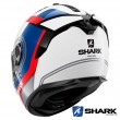 Casco Integrale Shark SPARTAN GT Tracker - Bianco Blu Nero