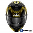 Casco Integrale Shark SPARTAN GT Replikan - Nero Oro Cromo