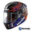 Casco Moto Integrale Shark RACE-R PRO Replica Lorenzo Catalunya GP 2019 - Nero Rosso Blu