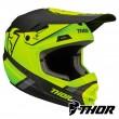 Casco Motocross Bambino Thor Youth SECTOR SPLIT - Acid Nero